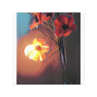 Impressão Em Canvas Flor do fogo