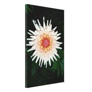 Impressão Em Canvas flor em uma noite legal