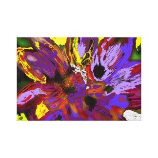 Impressão Em Canvas Flores