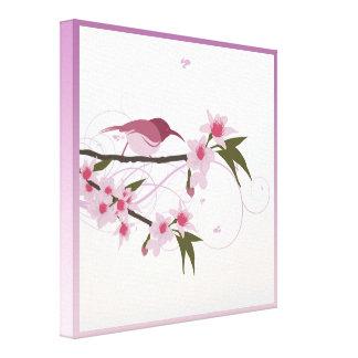 Impressão Em Canvas Flores do dia das mães no Lilac, na Borgonha, e no
