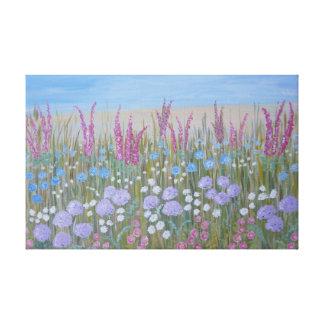 Impressão Em Canvas Flores do verão