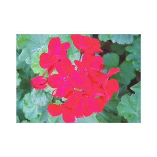 Impressão Em Canvas Flores fúcsia/cor-de-rosa