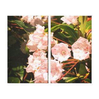 Impressão Em Canvas Florescência das flores