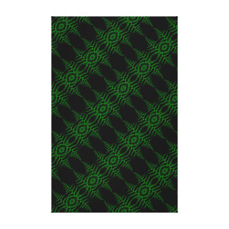 Impressão Em Canvas Folhas verdes