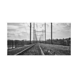 Impressão Em Canvas Foto industrial da fotografia | da trilha de