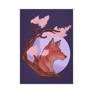 Impressão Em Canvas Fox de Sakura