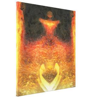 Impressão Em Canvas Fox do ouro
