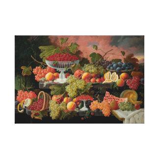 Impressão Em Canvas Frutas