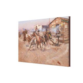 Impressão Em Canvas Fumo das belas artes de uns 45 por Charles Marion