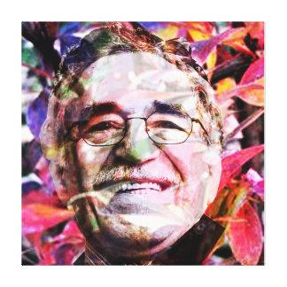 Impressão Em Canvas Gabriel García Márquez