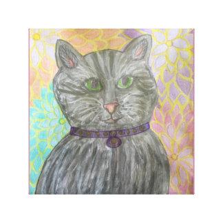 Impressão Em Canvas Gato de Callie
