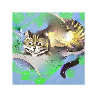 Impressão Em Canvas Gato do desvanecimento Cheshire