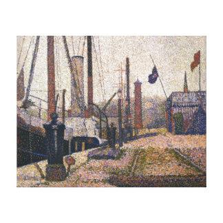 Impressão Em Canvas Georges Seurat a Maria em Honfleue
