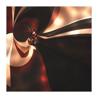 Impressão Em Canvas Glo castanho chocolate do cappuccino da arte abstr