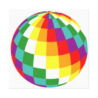 Impressão Em Canvas Globo de Colores