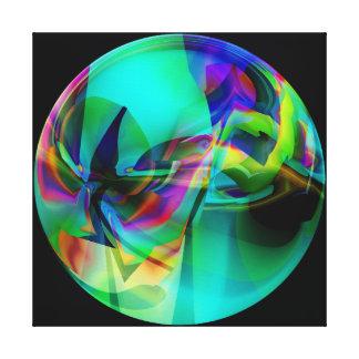 Impressão Em Canvas Globo do jade
