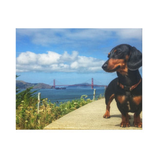 Impressão Em Canvas Golden Gate de San Francisco