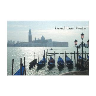 Impressão Em Canvas Gôndola de Veneza do canal grande