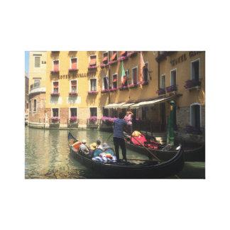 Impressão Em Canvas Gôndola em Veneza