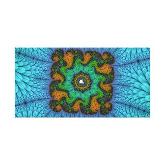 Impressão Em Canvas Grupo quadrado de Mandelbrot