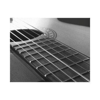Impressão Em Canvas Guitarra acústica