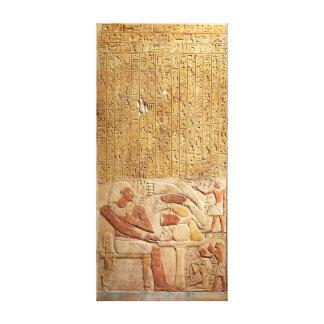 Impressão Em Canvas Hieroglyphics de Egipto antigo de reino médio