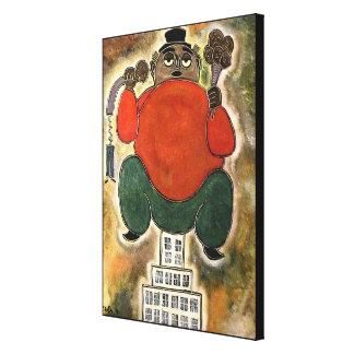 Impressão Em Canvas Homem que senta-se pelo rafi talby