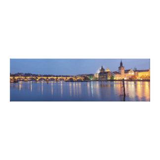 Impressão Em Canvas Hora azul em Praga
