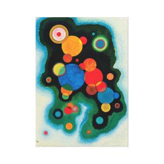 Impressão Em Canvas Impulso aprofundado por Wassily Kandinsky