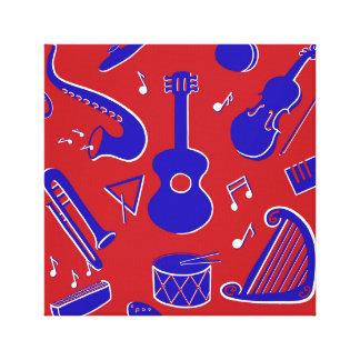 Impressão Em Canvas Instrumentos musicais