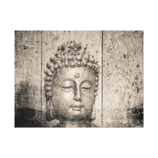 Impressão Em Canvas Ioga de Buddha do vintage