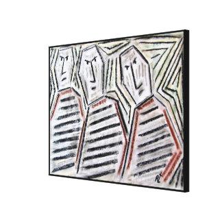 Impressão Em Canvas Irmãos pelo rafi talby