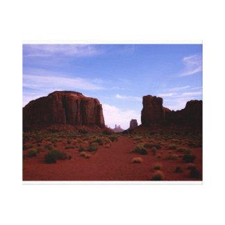 Impressão Em Canvas Janela norte, vale do monumento, arizona