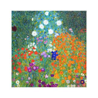 Impressão Em Canvas Jardim de Gustavo Klimt