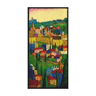 Impressão Em Canvas Jerusalem no alvorecer pelo Kis-Lev de Jonathan