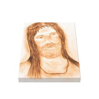 Impressão Em Canvas Jesus na luz