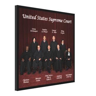 Impressão Em Canvas Juizes do Tribunal Supremos dos Estados Unidos