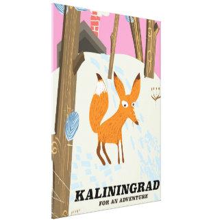 """Impressão Em Canvas Kaliningrad """"para poster de viagens de uma"""