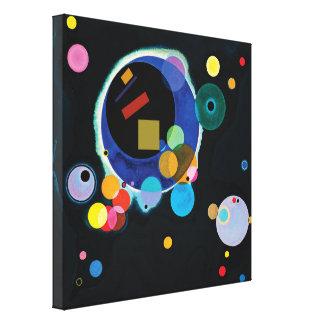 Impressão Em Canvas Kandinsky + Malevich