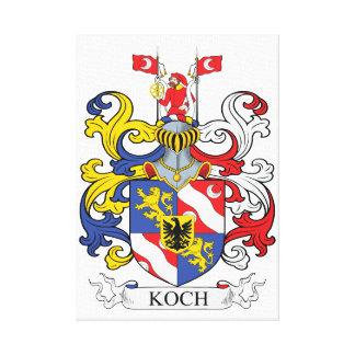 Impressão Em Canvas Koch feito sob encomenda
