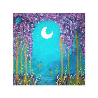 Impressão Em Canvas Lagoa da lua