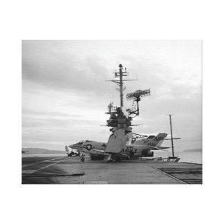 Impressão Em Canvas Leão do preto do lutador do demónio de USS Hancock
