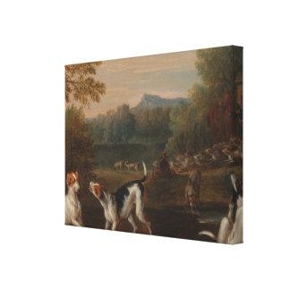 Impressão Em Canvas Liberando os cães