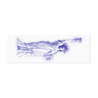 Impressão Em Canvas Liberty, Nova Iorque, Manhattan, EUA, América