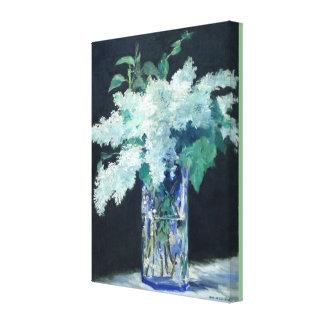 Impressão Em Canvas Lilac branco por Edouard Manet
