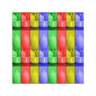 """Impressão Em Canvas Limonada color's12"""" X12"""", 1,5"""", solteiro"""