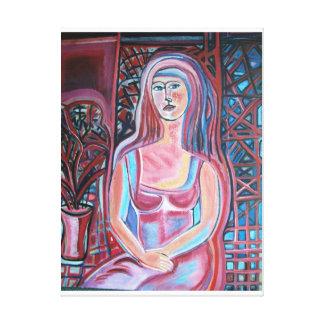 Impressão Em Canvas Linha Modern Art By SJermann