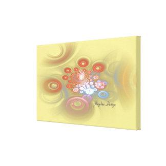 Impressão Em Canvas Linho - fractal 14.1