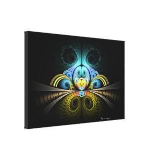 Impressão Em Canvas Linho - fractal 25.1