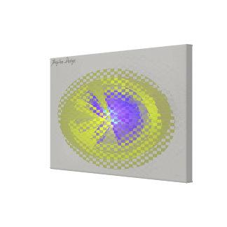 Impressão Em Canvas Linho - fractal 30
